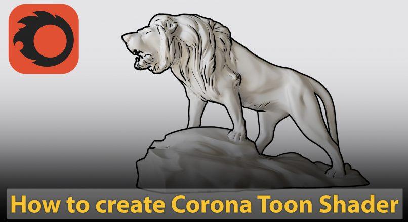 Hướng Dẫn Tạo Vật Liệu Toon Shader Trong Corona Renderer