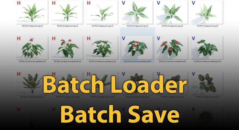 Hướng Dẫn Biên Tập Thư Viện Nhanh Chóng Bằng Script Batch Loader Và Batch Save Trong 3dsMax