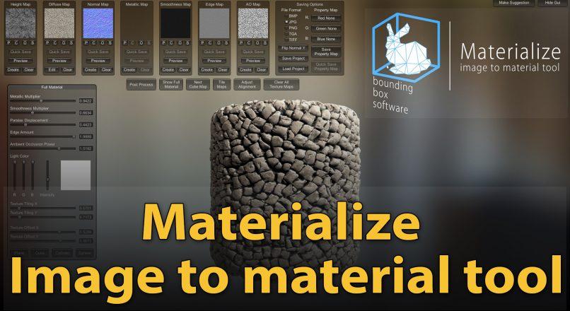 Hướng Dẫn Cách Tạo Vật Liệu PBR Đơn Giản Với Materialize