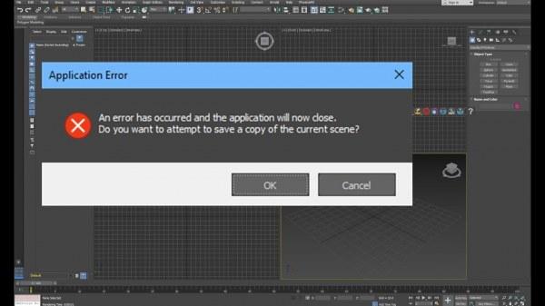 File 3dsMax Bị Lỗi Không Mở Được