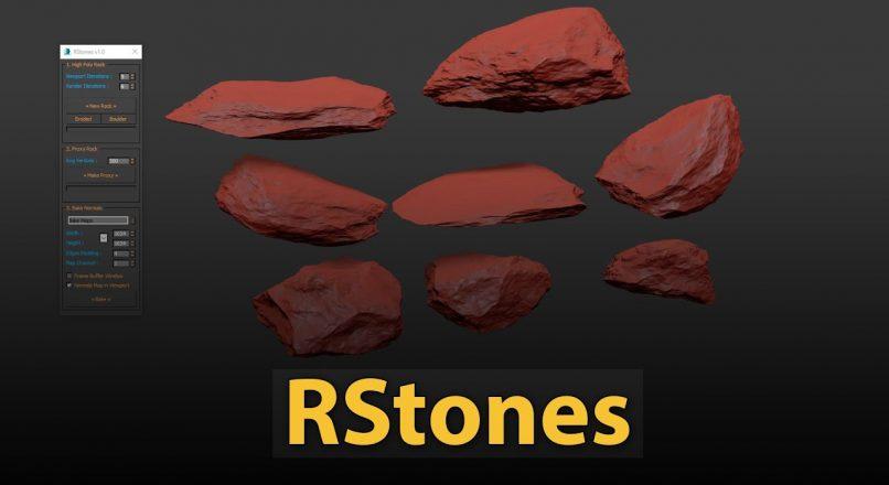 Hướng dẫn dựng nhanh mô hình đá tự nhiên trong 3dsMax