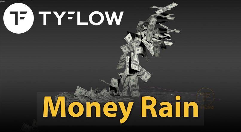 """Hướng Dẫn Tạo Cơn """"Mưa Tiền"""" Với TyFlow Trong 3dsMax"""