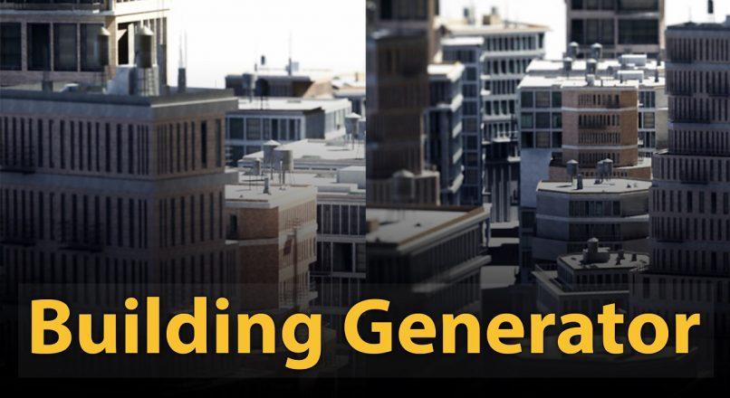 Hướng Dẫn Dựng Hình Nhanh Các Công Trình Kiến Trúc Hiện Trạng Bằng Script Building Generator Trong 3dsMax