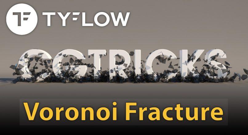 Hướng Dẫn Cơ Bản Làm Hiệu Ứng Gãy Vỡ (Voronoi Fracture) Với TyFlow