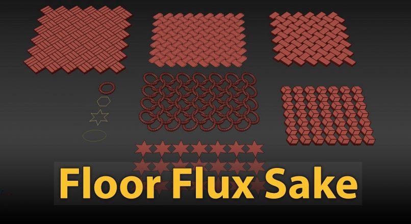 Hướng Dẫn Tạo Nhanh Tự Động Các Pattern 3D Models Tùy Biến Trong 3dsMax Với MCG Floor Flux Sake