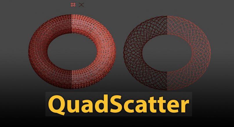 Hướng Dẫn Sử Dụng MCG QuadScatter Để Dựng Hình Trong 3dsMax