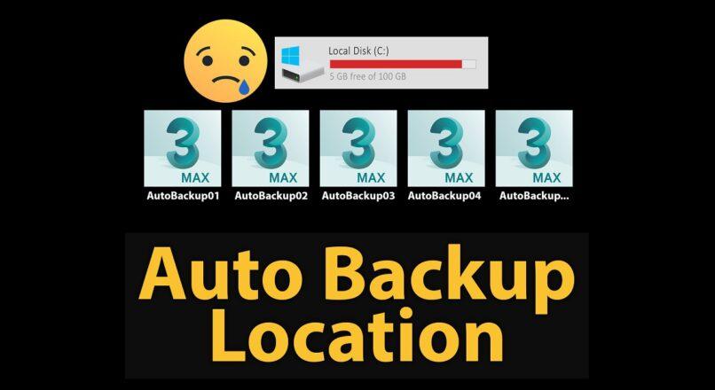 Làm Sao Thay Đổi Đường Dẫn Save File AutoBackup Của 3dsMax?