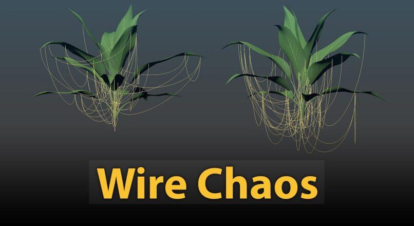 Hướng Dẫn Sử Dụng Script Wire Chaos Trong 3dsMax