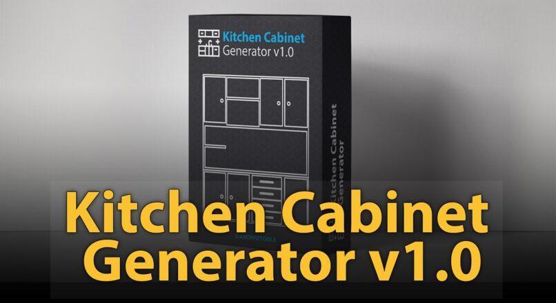 Hướng Dẫn Dựng Nhanh Mô Hình 3D Tủ Bếp Với Script Kitchen Cabinet Generator