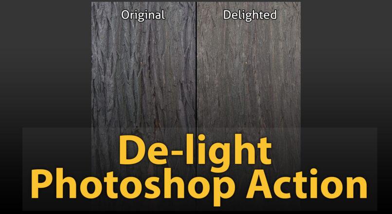Hướng Dẫn Kỹ Thuật De-Light Đơn Giản Cho Vật Liệu Bằng Photoshop Action