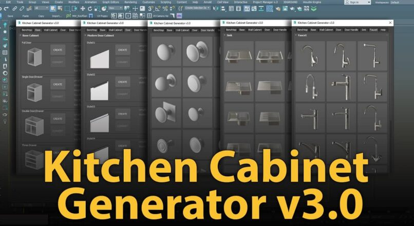 Kitchen Cabinet Generator V3.0 – Updated!