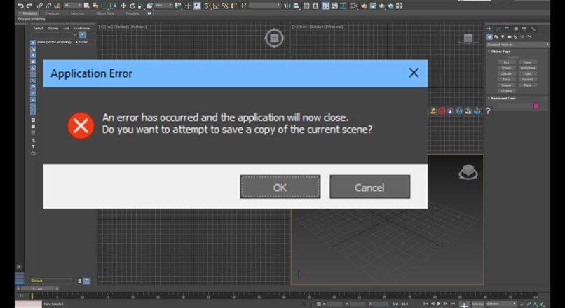 Tổng Hợp Các Cách Cứu File 3dsMax Bị Hỏng Không Mở Được