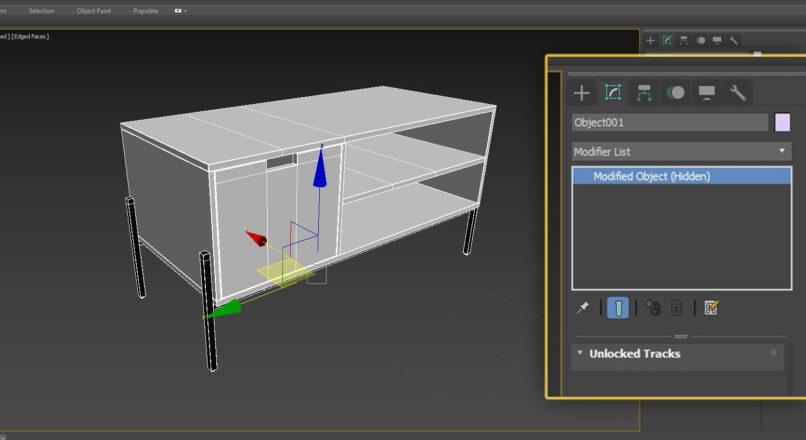 Hướng Dẫn Sửa Lỗi Modifier Object (Hidden) Trong 3dsMax